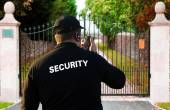 Security guard — Stock Photo