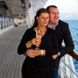 Couple Enjoying a Cruise Vacation — Stock Photo #63945765