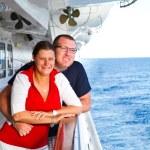 Couple Enjoying a Cruise Vacation — Stock Photo #63946955