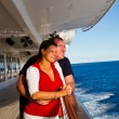 Couple Enjoying a Cruise Vacation — Stock Photo #63947035
