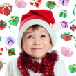 Little Santa — Stock Photo #55913555