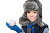 Winter-junge — Stockfoto