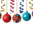 Christmas baubles — Stock Photo #59988219