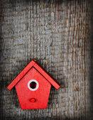 The birdhouse — Stock Photo