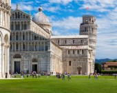 Miracle Square in Pisa — Stock Photo