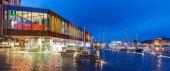 Bergen Visitor Center — Stock Photo