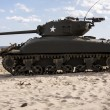 Sherman Tank — Stock Photo #65786465