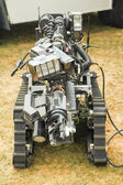 Bomb disposal robot — Foto de Stock