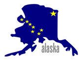 Alaska — Stock Vector