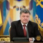 ������, ������: President of Ukraine Petro Poroshenko during the NSDC meeting