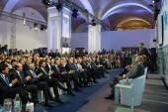 President of Ukraine Petro Poroshenko at the 11th Annual Meeting — Stockfoto