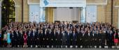 Participants of the 11th Annual Meeting of Yalta European Strate — Stock Photo