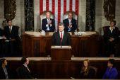 Petro poroshenko alla sessione congiunta di Stati Uniti congr — Foto Stock