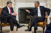 Presidents Barack Obama and Petro Poroshenko — Stock Photo