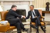 Presidents Barack Obama and Petro Poroshenko — Stock Photo