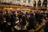 President of Ukraine Petro Poroshenko in Ottawa (Canada) — Stock Photo
