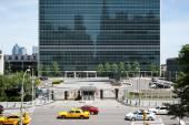 United Nations Building in New York — Zdjęcie stockowe