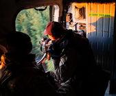 Antiterrorist operation in the Donetsk region, Ukraine — Stock Photo