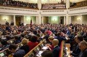 Newly elected Verkhovna Rada of Ukraine — Stockfoto