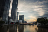 Skyscrapers of Singapore — Stock Photo