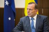 Australian Prime Minister Tony Abbott — Stock Photo