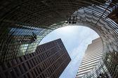 Manhattan modern architecture — Stock Photo