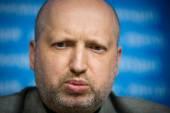 Secretary of the NSDC of Ukraine Oleksandr Turchynov — Stock Photo