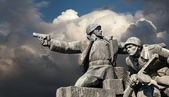 WW2 memorial in Kiev — Stock Photo
