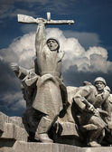 WW2 memorial in Kiev — Stock Photo