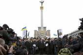 March of solidarity against terrorism at Kiev — Stock Photo