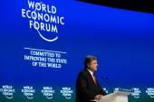 Davos World Economic Forum Annual Meeting 2015 — Stock Photo