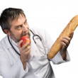 Fruit or bread — Stock Photo #65297503