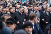 March of Dignity in Kyiv — Stockfoto