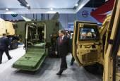 International Defence Exhibition in Abu Dhabi — Stock Photo