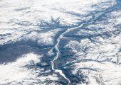 Snowy mountains, Turkey — Stock Photo