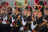 Paris. Guard of honor — Stock Photo