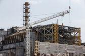 çernobil nükleer santrali — Stok fotoğraf
