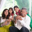 Happy indian family — Stock Photo #52576311