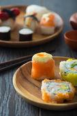 Various sushi — Stock Photo