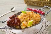 Chicken rice — Stock Photo
