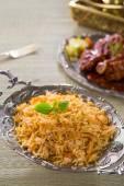 Biryani rijst — Stockfoto