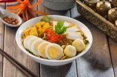 Instant noodles soup — Stock Photo