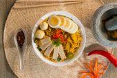 Instant noodles soup — Foto Stock