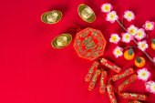 Plum flowers  for chinese new year — Stock Photo
