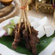 Delicious beef satay. — Stock Photo #67117859