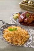 Chicken Biryani rice — Stock Photo