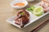 Asian roast duck — Stock Photo