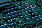 Car tools set  — Stock Photo