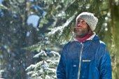 Portret zimowy — Zdjęcie stockowe