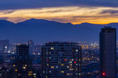 Night Santiago  — Foto Stock